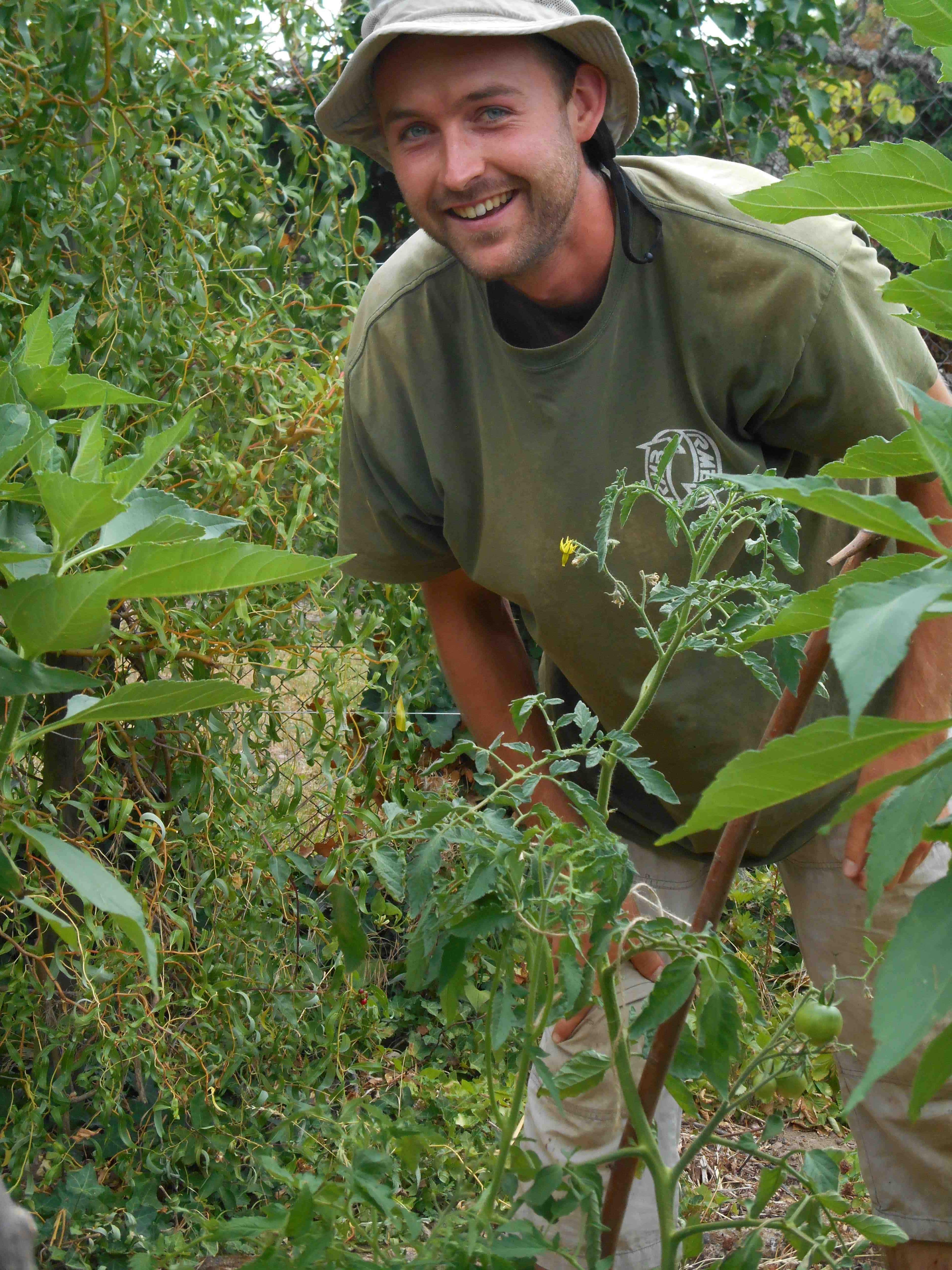 Portrait de gilles jardinier kientzheim pas pas for Conseil de jardinier